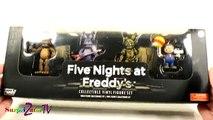 À cinq nuits avec Les figurines en vinyle Funk FUNKO cinq nuits fnaf freddy Freddy Set 1