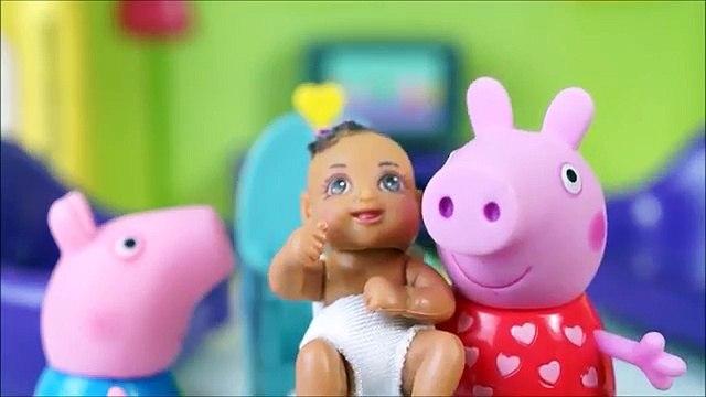 Pig George da Família Peppa Pig O Carro de Corrida do George Novelinha da Peppa Pig Comple