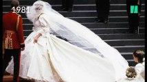 La vie de Lady Di en quatre de ses principales tenues