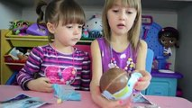 Extra Large Kinder Surprise Eggs- Surprise Toys- Fun Kid Toys