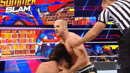 Seth Rollins & Dean Ambrose vs Sheamus & Cesaro (Summerslam 2017)