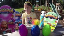 Incroyable balle bulle Oeuf des œufs la famille amusement amusement ouverture examen homme araignée jouets surprise
