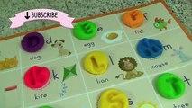 Et pour amusement amusement enfants Jardin denfants Apprendre des lettres jouer tout petit vidéo avec Abc alphabet doh abc