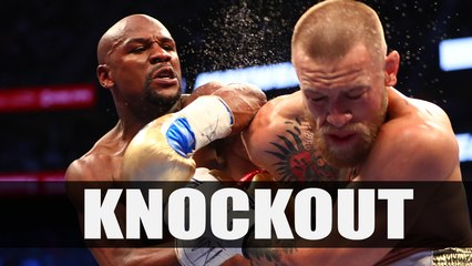 Floyd Mayweather KNOCKOUT Conor McGregor in 10th round (knockout punch)