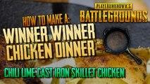 Winner Winner Chicken Dinner Recipe - Pubg - Chili Lime Cast iron Skillet chicken - Gamer Food
