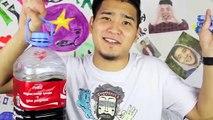 Coca Cola reajuste salarial 50 litros de 60 paquetes de Mentos cola Mentos