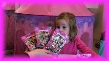 Dix des sacs aveugle chiffres filles ouverture playmobil collecte des chiffres pour les filles série Déballez |