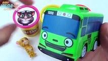 Автобус чи глина цвета доч для Узнайте мало Пеппа свинья играть штабелирования Говоря в том объем сups tayo