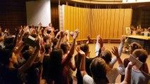 Levez les mains vers Dieu - Retraite collégiens 2017 TRESSAINT