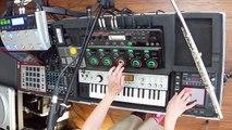 loop station Boss RC-505 - Christmas Remix (live looping) by Nastya Maslova