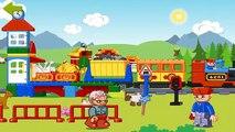 Tren y tren de Lego Ferrocarriles hueco de Lego Lego Duplo historieta sobre el tren