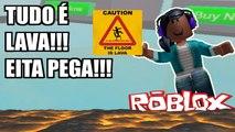 Roblox - TUDO É LAVA!!! PARTE 01 (The Floor is Lava! 2)