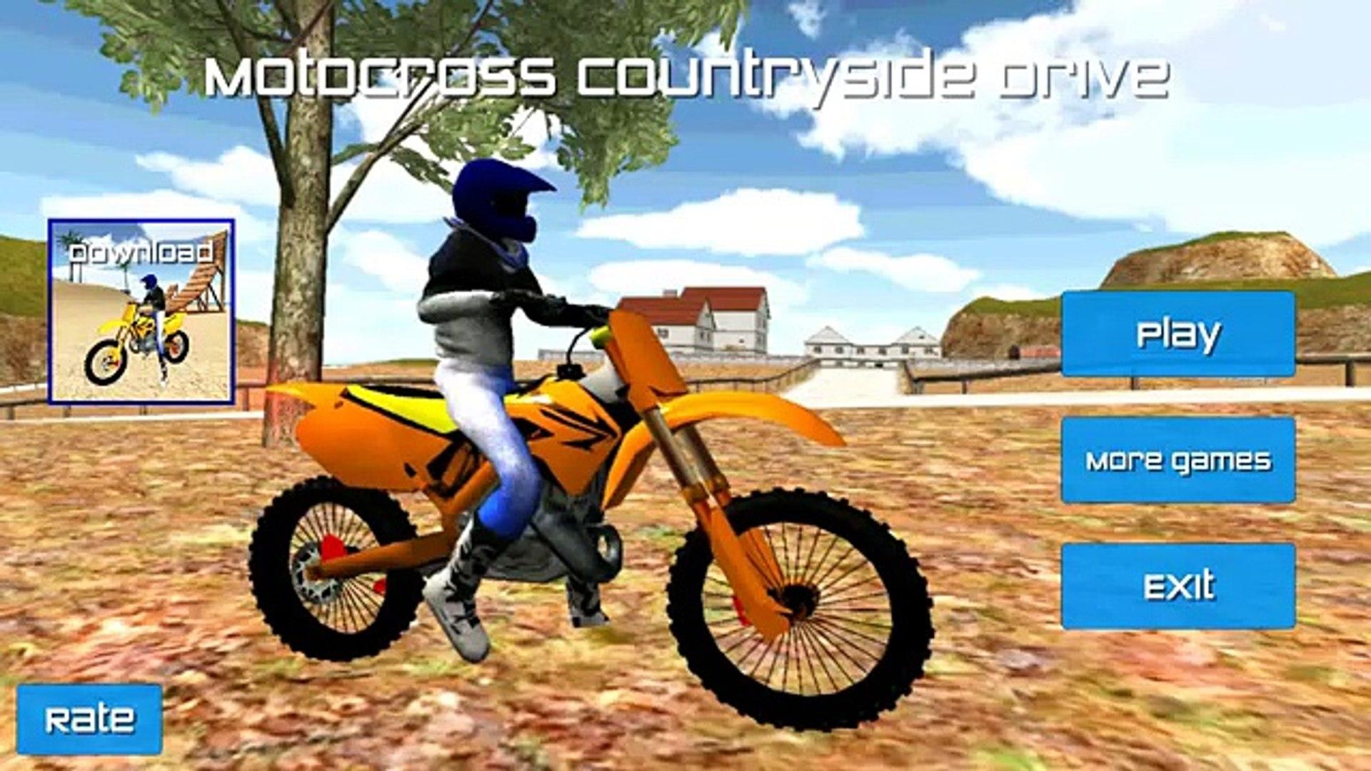 Мотокросс Сельская местность водить машину андроид Игры Hd h