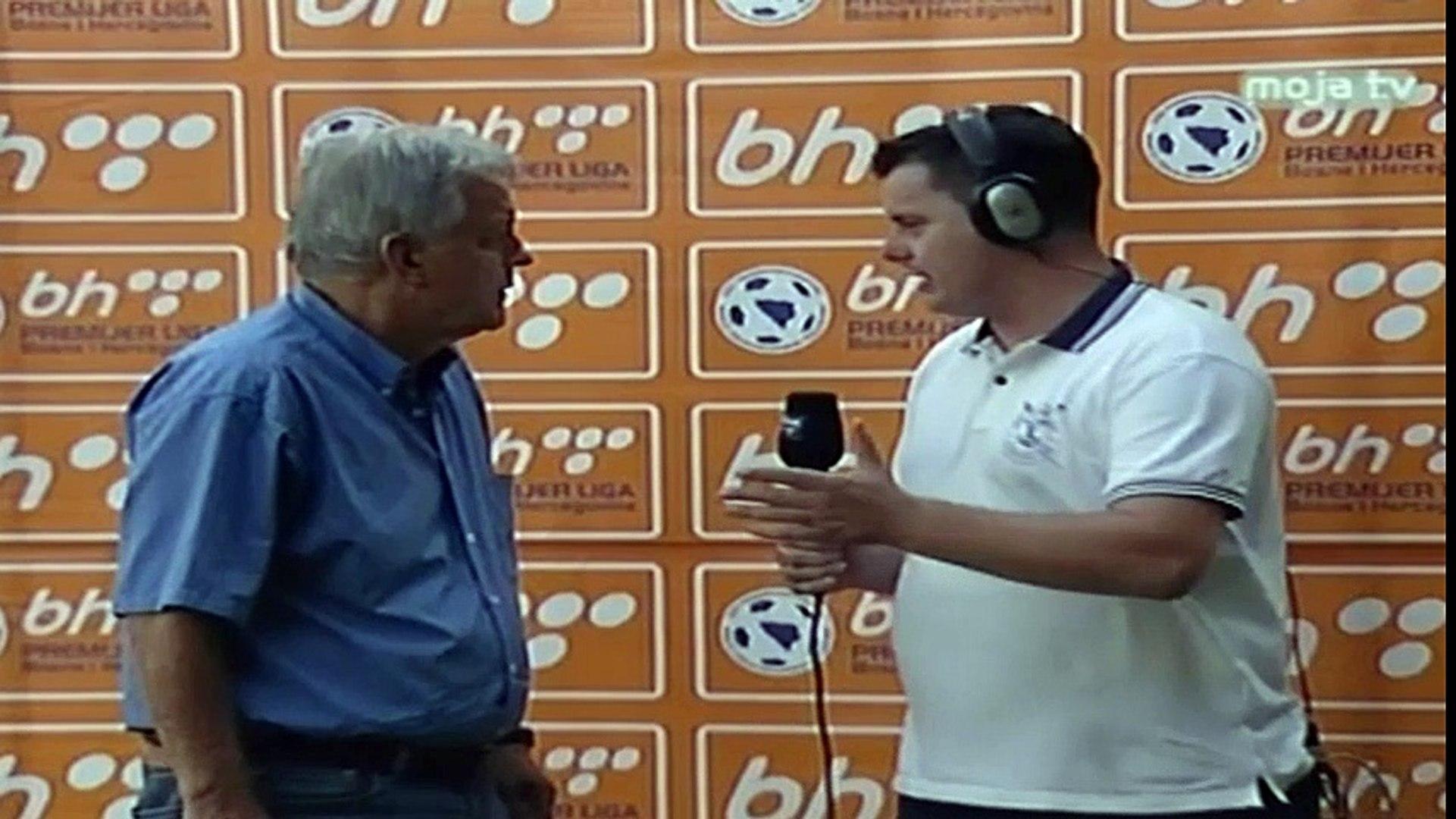 NK Čelik - FK Sloboda / Hafizović tokom izjave zaboravio prezime Mahira Mehića