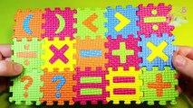 Les maths symboles signes pour enfants enfants mathématique Apprendre arithmétique les tout-petits apprentissage mathématiques