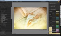 Edición foto Tutorial del photoshop del efex del color del software del nik