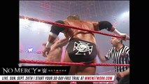 FULL MATCH — Triple H vs. Randy Orton - WWE Championship Match: WWE No Mercy 2007 (WWE Network)