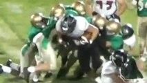 Nebraska running back Goes beast mode