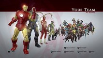 Marvel Ultimate Alliance | All Heroes and Costumes [PS4]
