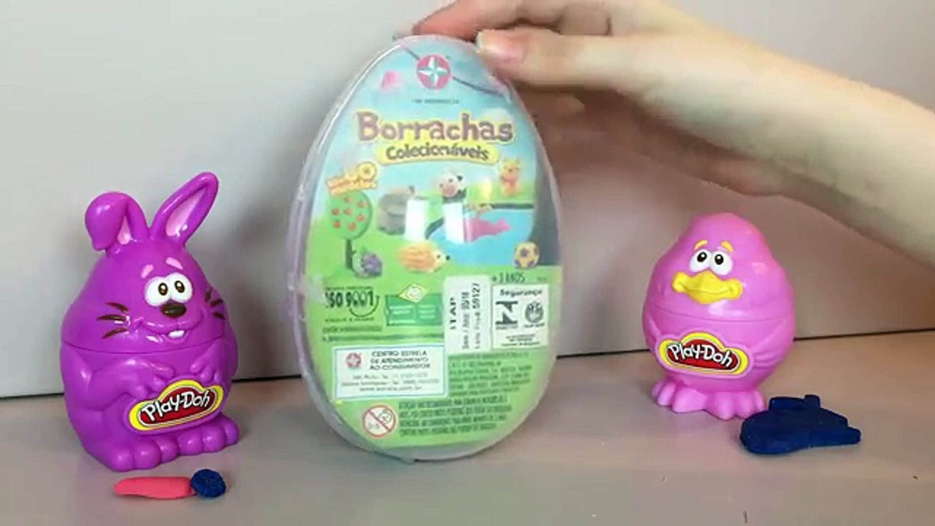Tutorial: Ovo de Páscoa Surpresa de Massinha (Play-Doh Egg) Julia Silva
