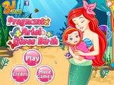 Naissance donne enceinte clin doeil ariel la petite sirène Ariel donne naissance au bébé