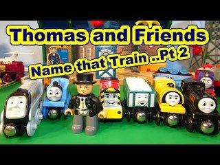 Thomas and Friends NAME THAT TRAIN Part 2 with Nursery Rhymes and call to Action