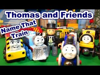 Thomas and Friends NAME THAT TRAIN Part 3 with Nursery Rhymes Music