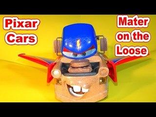 Pixar Cars Hawk Mater with the RC Lamborghini Gallardo at the Track