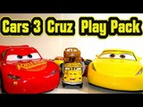 Pixar Cars 3 Cruz Ramirez Play Pack Coloring Book with Lightning McQueen Mater Jackson Storm