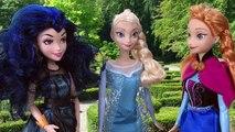 Et par par peut peut descendance mal gelé maléfique reine le le le le la piégé Mal evie elsa anna