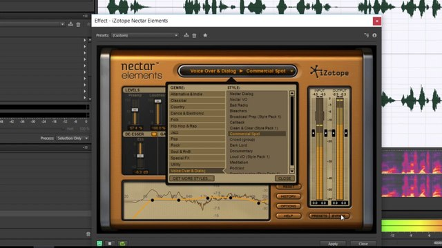 iZotope Nectar Elements VST Voice Over Presets (Podcast, Radio And Dialogue  Effects)