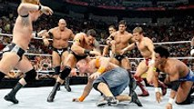 John Cena crushed by Nexus on Monday night raw with CM Punk see what happened next