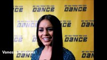 Vanessa Hudgens of So You Think You Can Dance Top 9 Interviews