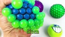 Et bébés balle enfants les couleurs enfants Apprendre vase gargouillis spongieux enseigner tout petit Stress splat b