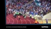 Monaco - OM : Après la défaite, les ultras marseillais veulent entrer sur la pelouse (vidéo)