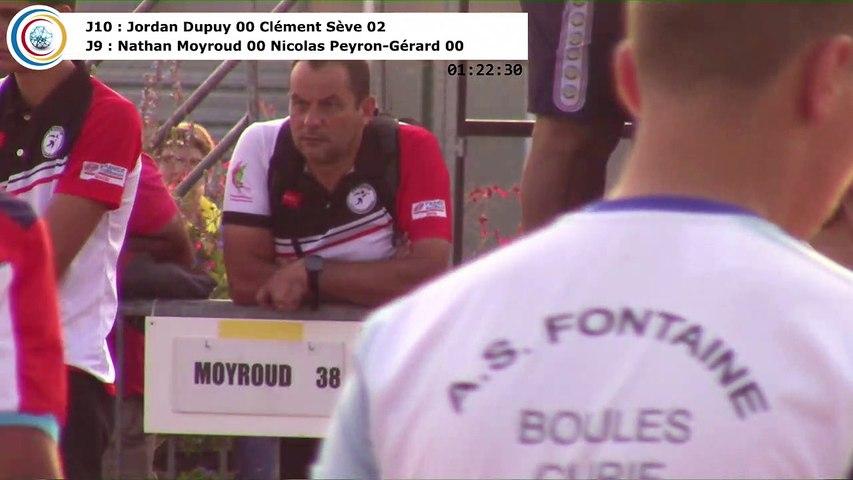 Huitièmes de finale G18, France Simple, Auxerre 2017