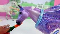 Exclusif fantaisie Guérison cheval les chevaux Pégase déballage à avec Ensemble de jeu de Schleich Bayala