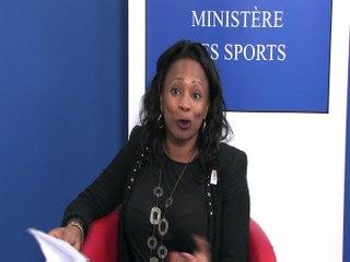 Laura Flessel, ministre des Sports