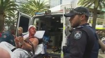 Une violente bagarre éclate en rue après le duel Mayweather-McGregor