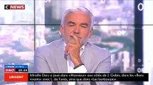 """Décès de Mireille Darc - Regardez l'hommage émouvant de Philippe Labro : """"Les Français l'aimaient car elle aimait le pub"""
