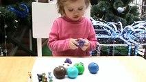 Des balles jouer jouets déballage doh doh balles de jouet surprise surprise