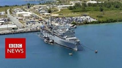 North Korea promises US territory of Guam strike plan in days BBC News