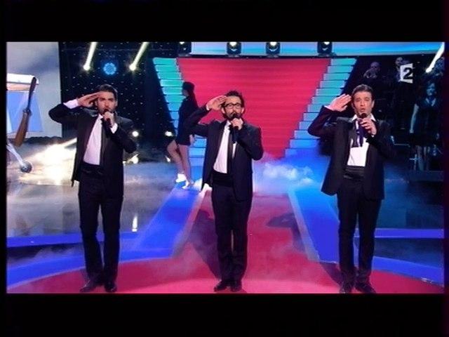 Mathieu Sempere, Marc Larcher, Nicolas Gambotti_LES CHEVALIERS DU CIEL_Live_TV