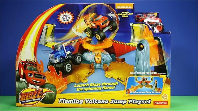 Blaze And The Monster Machines Volcano Blaze The Monster Machine Flaming Volcano Jump Play