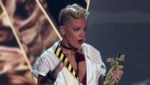 Pink Shares Inspiring Speech At MTV VMAs: 'You Are Beautiful'