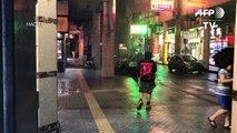 Nova tempestade atinge Macau e Hong Kong