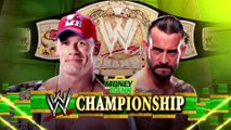 John Cena vs CM Punk, WWE Championship (Money in the Bank 2011)