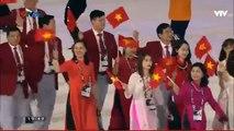 Đoàn thể thao Việt Nam diễu hành tại lễ khai mạc SEA Games 29 (Kuala Lumpur 2017)
