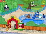 Y animales animación dibujos animados Educación explorar para helado niños pequeños Parque zoológico el bloque hueco de Lego