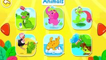 Little Panda Animated Stickers Children Play and Learn New Words Baby Panda Fun Game
